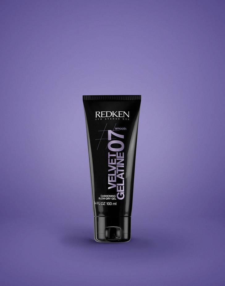 Velvet Gelatine 07 Cushioning Blow Dry Gel By Redken