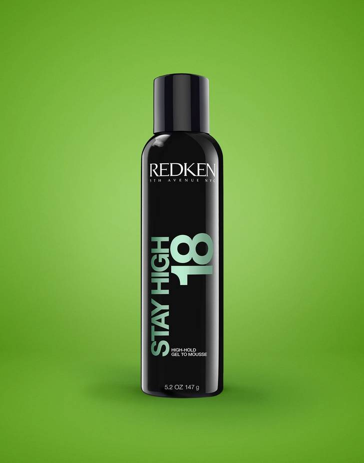 Stay High 18 High-Hold Gel To Mousse By Redken